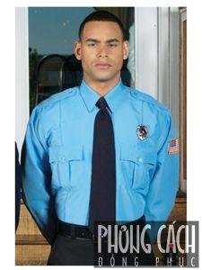 Đồng phục bảo vệ 036