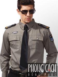 Đồng phục bảo vệ 045
