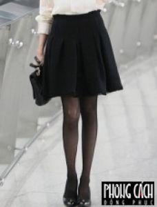 Chân váy công sở xếp ly chữ A mẫu 68