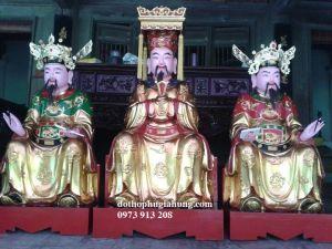 Tượng Vua Cha, Nam Tào, Bắc Đẩu