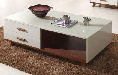 25+ mẫu bàn trà gỗ mặt kính hiện đại cho phòng khách