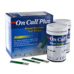 Que thử đường huyết On-call Plus (dạng lọ)