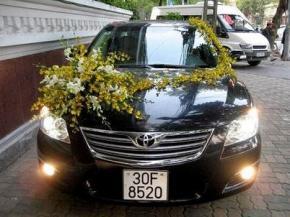 Toyota Camry 2.4G Xe Cưới Sang Trọng ( Nội Thành)