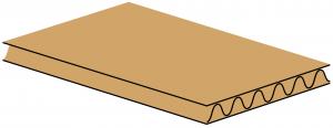 Giấy carton 3 lớp sóng C