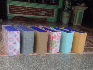 Các loại cặp, hộp lưu trữ, bảo quản hồ sơ