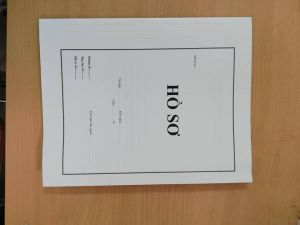 Bìa hồ sơ lưu trữ