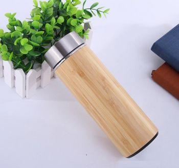 Bình giữ nhiệt thân gỗ