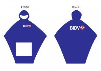 Áo mưa cánh dơi ngân hàng BIDV