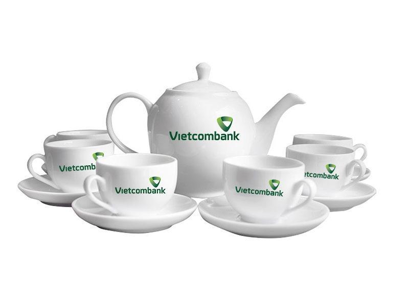 Bo am chen Bát Trang - Vietcombank