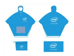 Áo mưa choàng Intel