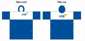 Áo mưa ngân hàng VIB