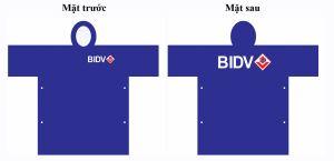 Áo mưa quảng cáo BIDV