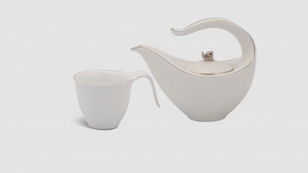 Bộ trà Minh Long Anh Vũ Bạch Chỉ Kim