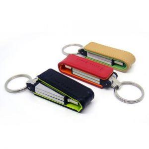 USB vỏ da nắp bật có nam châm