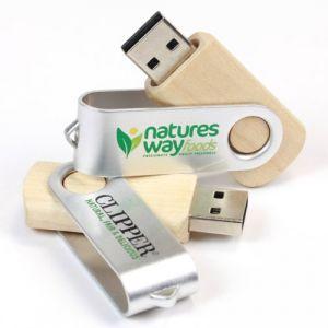 USB vỏ gỗ in logoquảng cáo,