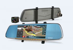 Màn hình gương tích hợp camera hành trình VietMap G68