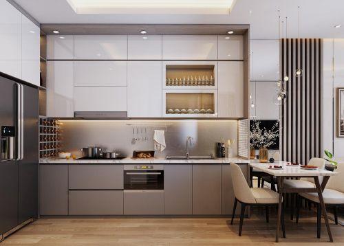 Phòng Bếp Chung Cư Vcity Bắc Ninh