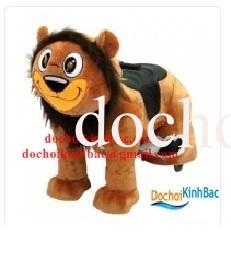 Xe thú cưỡi chạy bằng điện 12V-20A có nhạc TDC012 - HÌNH LION KING