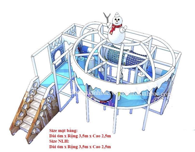 Khu vui chơi liên hoàn chủ đề tuyết NLHT016