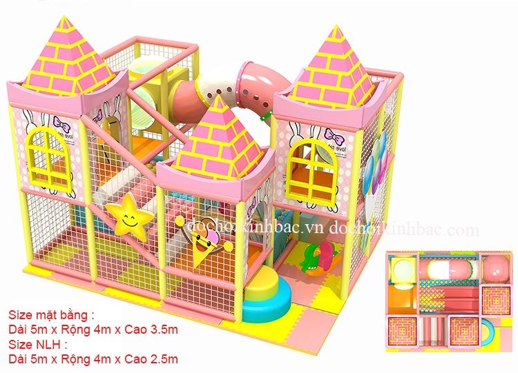 Khu Vui Chơi Liên hoàn diện tích 5-25 m2 LHSA007