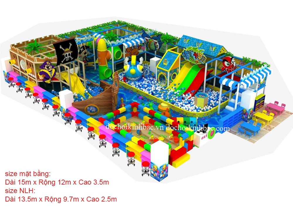 Khu Vui Chơi Liên hoàn diện tích 100-150 m2 LHSD023