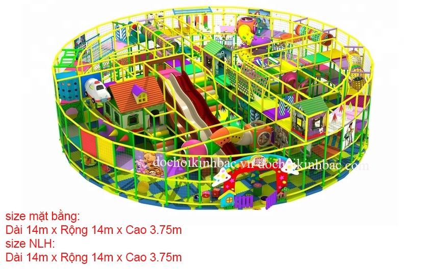 Khu vui chơi liên hoàn trong trung tâm thương mại NLHL011