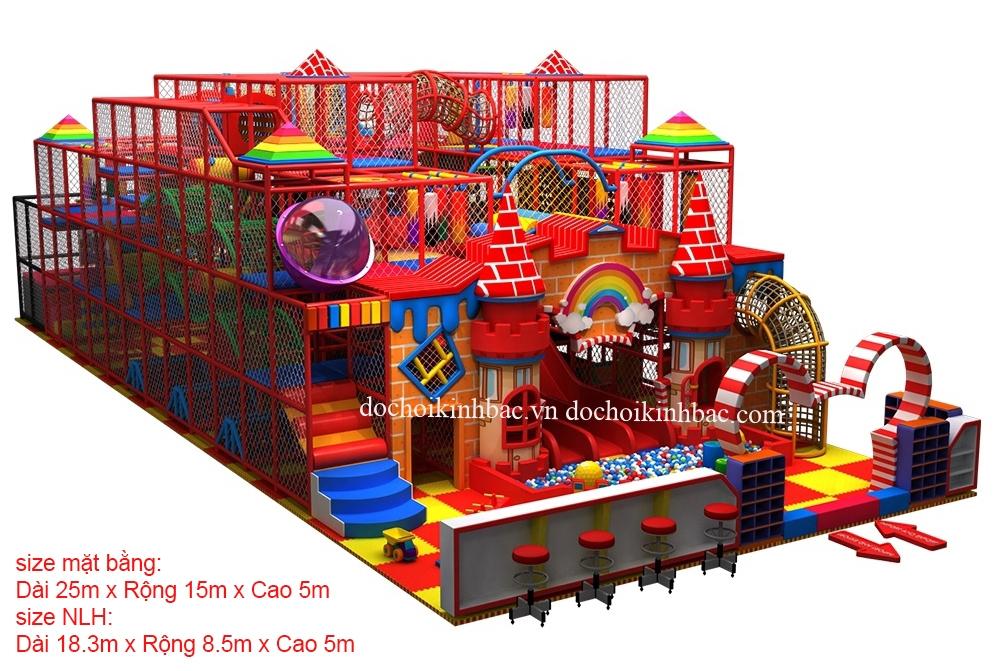Khu Vui Chơi Liên hoàn diện tích trên 150 m2 LHSE038