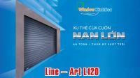 CỬA CUỐN AUSTDOOR NAN LỚN  Line – Art L120