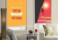 RÈM CUỐN TRANH 3D CHO VĂN PHÒNG OFFICE  RC3D84