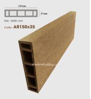 TRỤ CỘT GỖ NHỰA  P150x35 Wood TCGN07