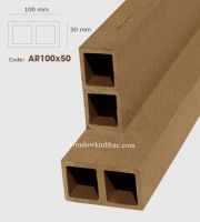TRỤ CỘT GỖ NHỰA  P100x50 Wood TCGN22