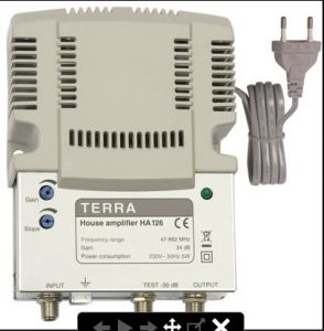 KHUẾCH ĐẠI/ AMPLIFIER HA-126 TERRA