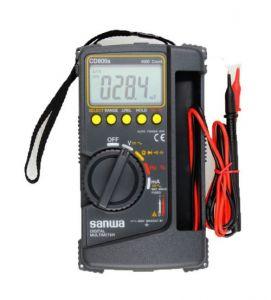 Đồng hồ vạn năng đo điện áp AC/DC Sanwa CD800a (Đen)