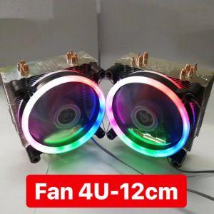 Tản Nhiệt CPU VSP CT-4U 12cm Led RGB