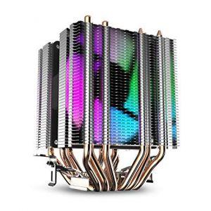 Tản Nhiệt CPU DarkFlash L6 Dual Tower RGB 9cm