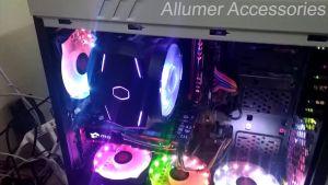 Tản Nhiệt CPU Cooler Master MasterAir MA610P Dual Fan RGB