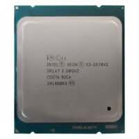 CPU Intel Xeon E5 2670 V2 (2.50GHz Up to 3.30GHz, 25M, 10C/20T) TRAY