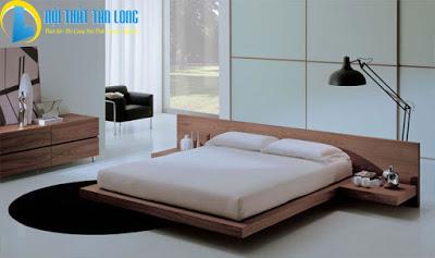 Giường ngủ gỗ hiện đại GN26