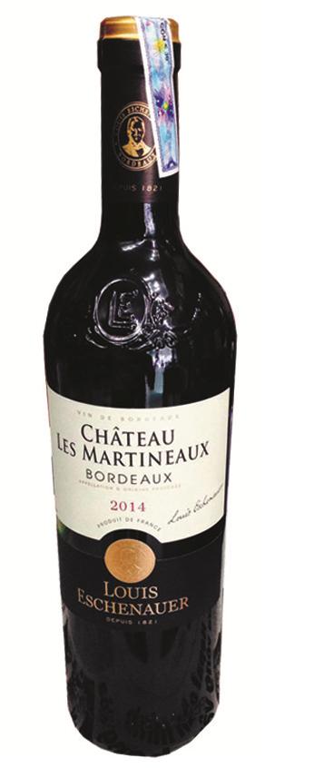 Chateau Les Martineaux Bordeaux  720ml 2014