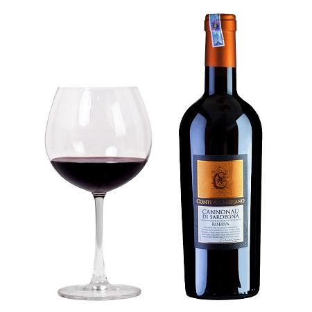 Rượu vang Cannonau Di Sardegna Riserva