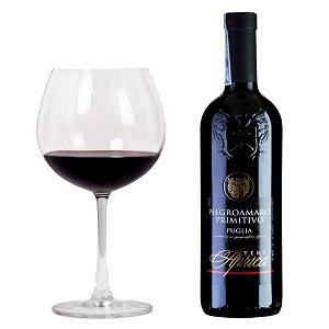 Rượu vang Aprica Negroamaro Primitivo