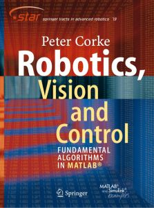 Robotics Vision and control fundamental algorithms in matlab