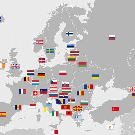 Châu Âu có bao nhiêu nước? gồm những quốc gia nào?