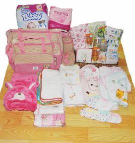 Trọn gói đồ sơ sinh cho bé gái