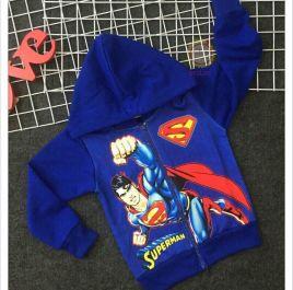 Áo khoác có nón in hình superman size nhỏ