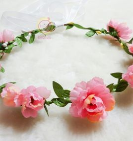 Vòng hoa cài đầu công chúa