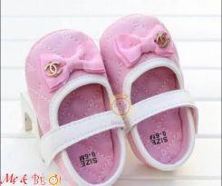 Giày tập đi cho bé gái