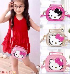 Túi xách hình mèo kitty đáng yêu cho bé gái