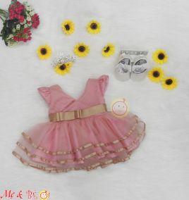 Đầm công chúa cực xinh cho bé gái ( size nhỏ)