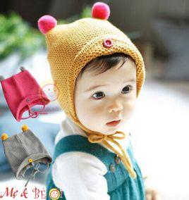 Nón len móc có 2 dây cột cho bé